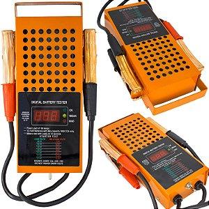 Teste de Carga Bateria e Alternador Digital 6 e 12V 125A