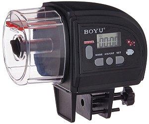 Alimentador Automático de Peixes Digital À Pilha Boyu ZW-66
