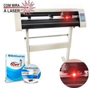 Plotter de Recorte Profissional 72cm com Mira à Laser e Software SignMaster