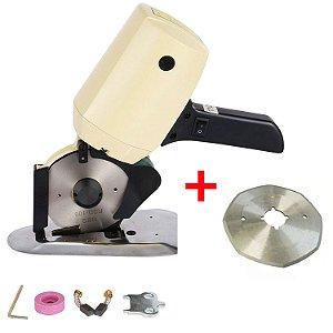 Máquina de Corte para Tecido de 4 Polegadas com Disco Octagonal Extra