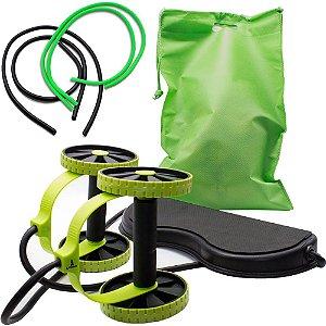 Revoflex Xtreme com 2 Pares de Elásticos para Exercícios de Musculação