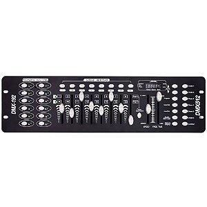 Mesa Controladora DMX 512 Efeitos de Luz DJ