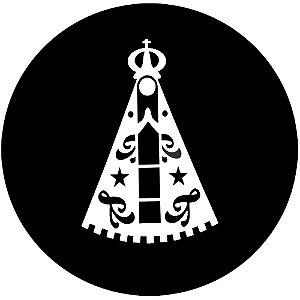 Capa Personalizada para estepe Ecosport Crossfox + Cabo + Cadeado Religioso Nossa Senhora