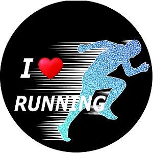 Capa Personalizada para Estepe Ecosport Crossfox Aircross I Love Running