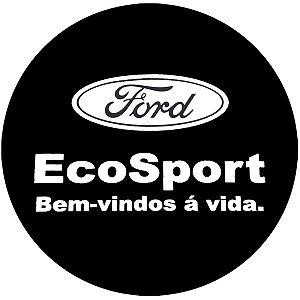 Capa para estepe Ecosport Crossfox Aircross + Cabo + Cadeado Ecosport Bem-vindos à Vida 2