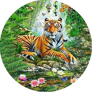 Capa Personalizada para Estepe Ecosport Crossfox Jimny Tigre