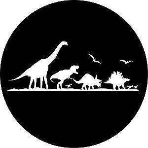 Capa para estepe Ecosport Crossfox + Cabo + Cadeado Dinossauros