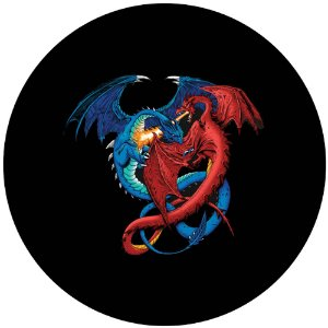 Capa Personalizada para Estepe Ecosport Crossfox Aircross Duelo de Dragões