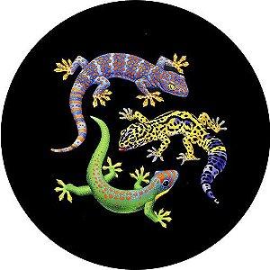 Capa Personalizada para Estepe Ecosport Crossfox Lagartos Geckos