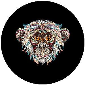 Capa Personalizada para Estepe Ecosport Crossfox Macaco Tribal