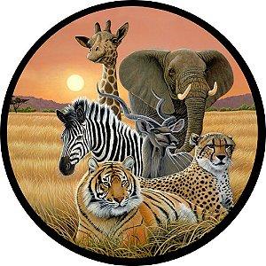 Capa Personalizada para Estepe Ecosport Crossfox Animais na Savana