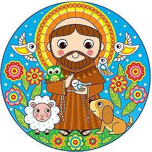 Capa Personalizada para Estepe Ecosport Crossfox Religioso São Francisco de Assis 2