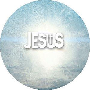 Capa para estepe Ecosport Crossfox + Cabo + Cadeado Religioso Jesus
