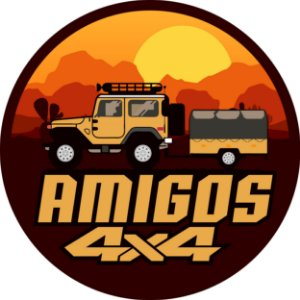 Capa Personalizada para Estepe Ecosport Crossfox Amigos 4x4