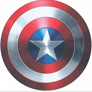 Capa Personalizada para Estepe Ecosport Crossfox Marvel Escudo Capitão America