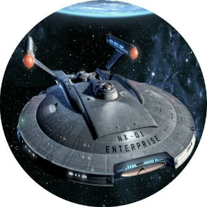 Capa Personalizada para Estepe Ecosport Crossfox Star Trek Enterprise