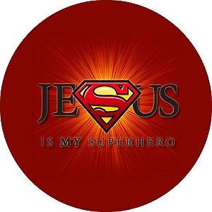 Capa para estepe Ecosport Crossfox + Cabo + Cadeado Religioso Super Jesus