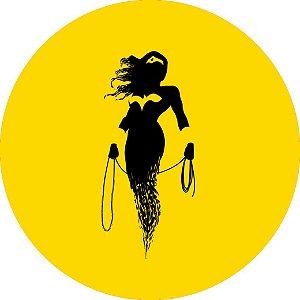 Capa para estepe Ecosport Crossfox + Cabo + Cadeado Mulher Maravilha 4