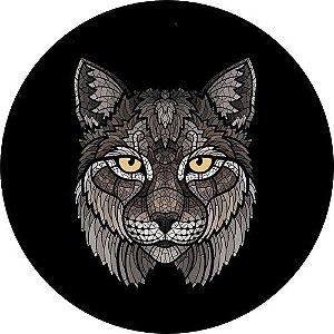 Capa Personalizada para Estepe Ecosport Crossfox Lince Felino