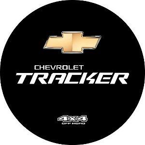 Capa para estepe Ecosport Crossfox + Cabo + Cadeado Tracker 4x4