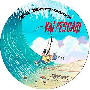 Capa para estepe Ecosport Crossfox + Cabo + Cadeado Vai Pescar