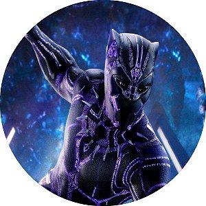Capa Personalizada para Estepe Ecosport Crossfox Pantera Negra Marvel