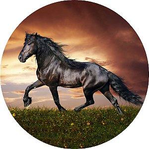 Capa Personalizada para Estepe Ecosport Crossfox Cavalo Negro