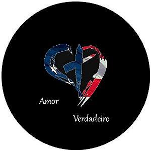 Capa Personalizada para Estepe Ecosport Crossfox Estados Unidos Amor Verdadeiro