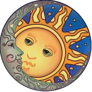 Capa Personalizada para Estepe Ecosport Crossfox Sol e Lua