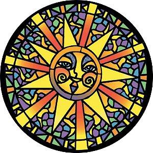 Capa Personalizada para Estepe Ecosport Crossfox Mosaico Sol