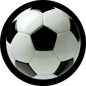 Capa Personalizada para Estepe Ecosport Crossfox Estampa Bola de Futebol