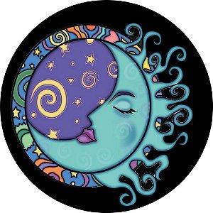 Capa Personalizada para Estepe Ecosport Crossfox Lua Azul