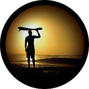 Capa Personalizada para Estepe Ecosport Crossfox Praia Sol