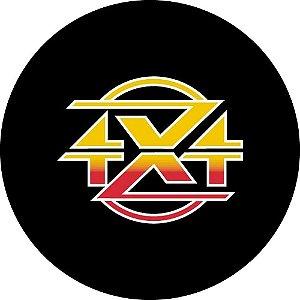 Capa para estepe Ecosport Crossfox + Cabo + Cadeado 4X4