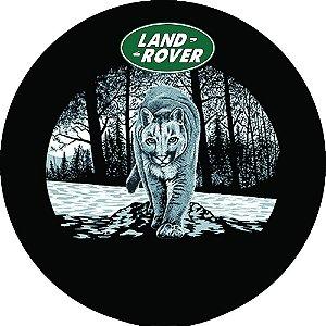 Capa para estepe Pneu Exclusiva Land Rover Defender Leão da Montanha
