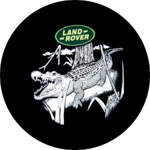 Capa para estepe Pneu Exclusiva Land Rover Defender Jacaré