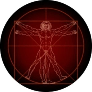 Capa Personalizada para Estepe Ecosport Crossfox Da Vinci Homem Vitruviano