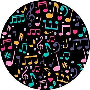 Capa Personalizada para Estepe Ecosport Crossfox Notas Musicais