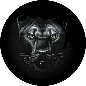 Capa Personalizada para Estepe Ecosport Crossfox + Cabo + Cadeado Pantera