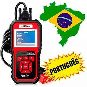 Scanner Automotivo Konnwei Kw850 Obd2 em Português