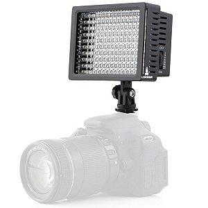 Iluminador Profissional para Filmadora LD-160 160 Leds 1480 lux