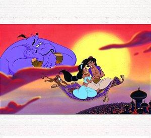 Painel de Festa Infantil Personalizado em Tecido Tema Aladdin 4