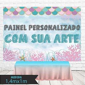 Painel de Festa Infantil Personalizado em Tecido Personalizado com sua Arte