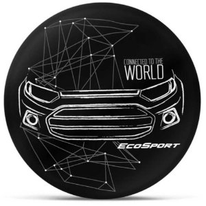 Capa Personalizada para Estepe Ecosport Crossfox Connected To The World