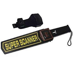 Detector Metais Portátil Alta Sensibilidade Metal Scanner