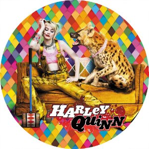 Capa Personalizada para estepe Ecosport Crossfox + Cabo + Cadeado Harley Quinn 2