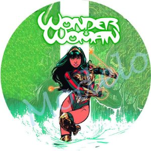 Capa Personalizada para Estepe Ecosport Crossfox Estampa Nova Mulher Maravilha 3