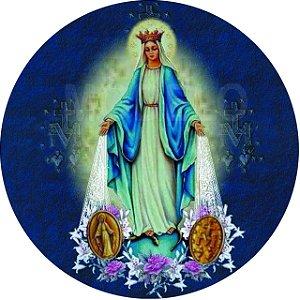 Capa Personalizada para Estepe Ecosport Crossfox Religioso Nossa Senhora das Graças Medalha Milagrosa