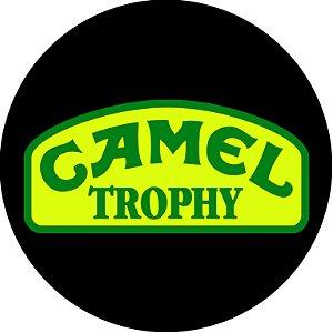 Capa Personalizada para Estepe Pneu Exclusiva Land Rover Defender Camel Trophy