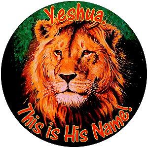 Capa Personalizada para Estepe Ecosport Crossfox Estampa Yeshua This is His Name